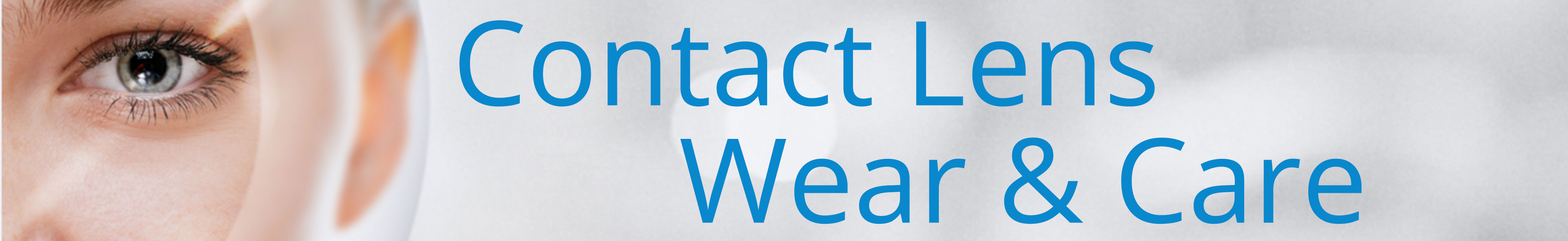 Contact Lens Wear and Care Image