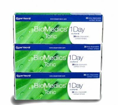 CooperVision - Biomedics 1 Day Toric 90pk