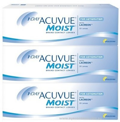 Johnson & Johnson - 1 Day Acuvue Astigmatism 90 pack