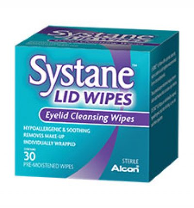 Solutions & Accessories - SYSTANE® Lid Wipes (30 PER PACK)