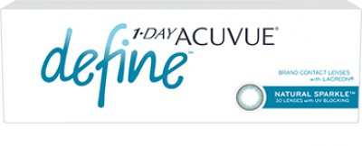 Johnson & Johnson - 1 Day Acuvue Define 30 pack