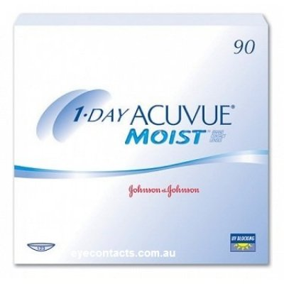 Johnson & Johnson - 1 Day Acuvue Moist 90