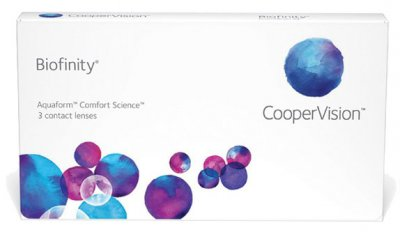 CooperVision - Biofinity 3pk Contact Lenses