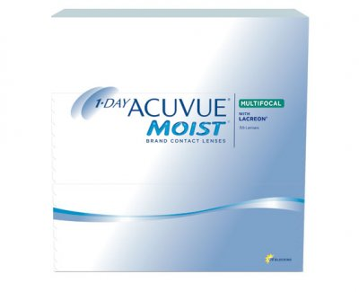 Johnson & Johnson - 1-Day Acuvue Moist Multifocal 90pk