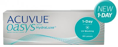 Johnson & Johnson - ACUVUE Oasys 1-Day 30pk with HydraLuxe