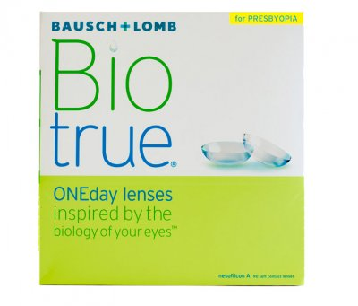 Bausch & Lomb - Biotrue ONEday for Presbyopia 90