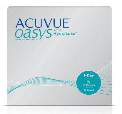 Johnson & Johnson - ACUVUE Oasys 1-Day 90pk with HydraLuxe