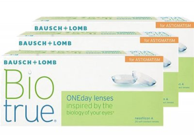 Bausch & Lomb - Biotrue ONEday for Astigmatism 90pk