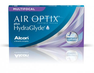 Alcon - Air Optix Plus HydraGlyde Multifocal 3pk