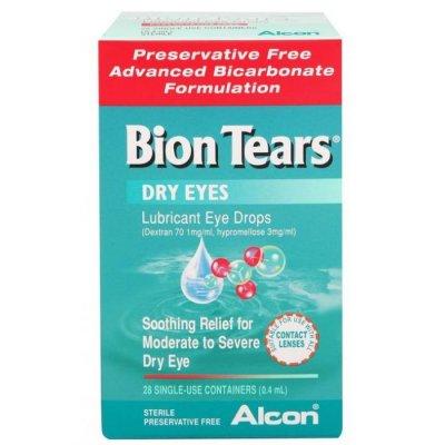 Solutions & Accessories - Tears : Bion Tear Drops 28 X 4ML