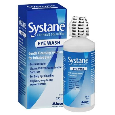 Solutions & Accessories - Systane Eye Wash 120mL