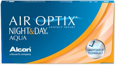 Alcon - Focus Night & Day Air Optix Aqua 6pk
