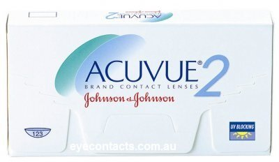 Johnson & Johnson - Acuvue2 6 pack