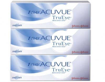 Johnson & Johnson - 1 Day Acuvue TruEye 90 pk