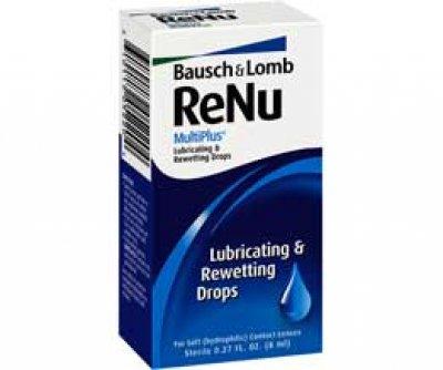 Solutions & Accessories - ReNu MultiPlus LubricatingRewettng Drops