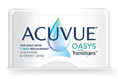 Johnson & Johnson - ACUVUE® OASYS with Transitions™ 6pk