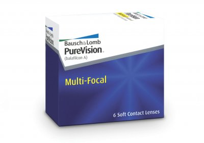 Bausch & Lomb - PureVision Multifocal 6pk