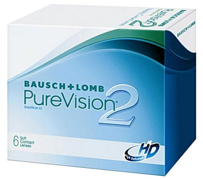 Bausch & Lomb - PureVision2 HD Contact Lenses 6pk