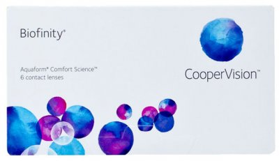 CooperVision - Biofinity Contact Lenses 6pk