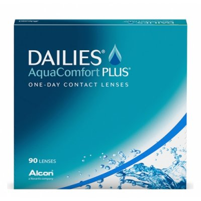 Alcon - DAILIES AquaComfort Plus 90pk